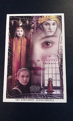QUEEN AMIDALA STAR WARS 1801 EPISODE 1 MINI POSTER 4 x 6 INCHES
