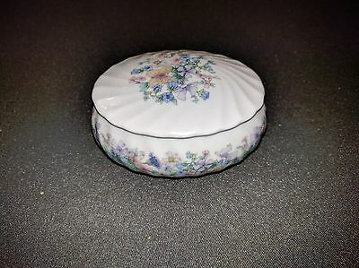 Genuine Wedgwood Bowl with Lid - Angela Design - Bone China