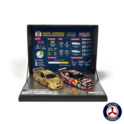 Scalextric C3815A Craig Lowndes 100th Race Win Twin Set Limited Edition - Brand