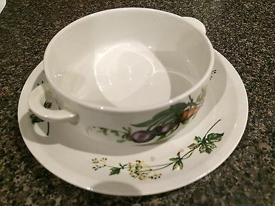 Villeroy And Boch Vintage Soup Dish and Plate
