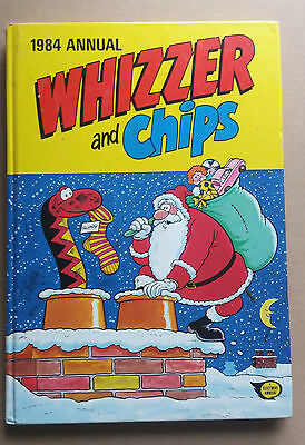 Whizzer and Chips 1984 Comic Annual-Fleetway