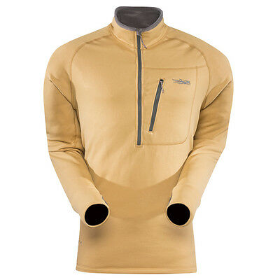 Sitka TRAVERSE Zip T ~ Coyote NEW ~ Size Medium CLOSEOUT