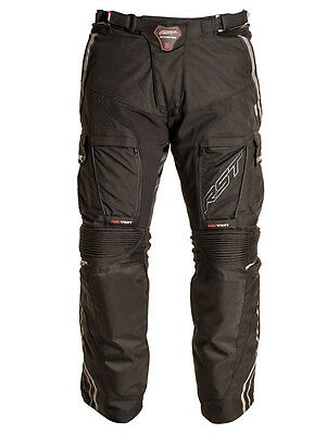 RST Adventure 2 Textile Pants Sport Touring Riding Road Bike Pants Black