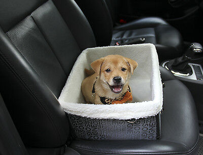 WATERFLY Pet Supplies Booster Car Seat Puppy Dog Cat Travel Tote Safety Basket