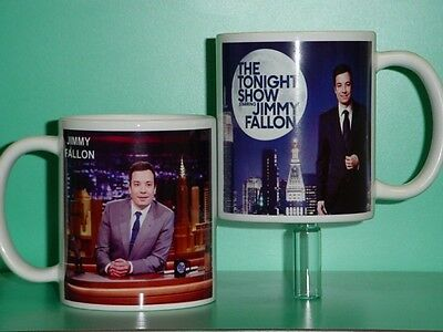 JIMMY FALLON - The Tonight Show - with 2 Photos - Designer Collectible GIFT Mug