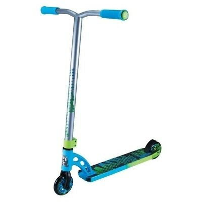 Madd Gear MGP VX7 Pro Blue/Green Complete Scooter - NEW 2017 Model