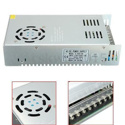 400W 48V 8.3A Metal Single Output Switching Power Supply AC to DC SMPS S-400-48