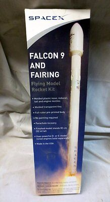 New SpaceX Falcon 9 & Fairing Flying Model Rocket Kit