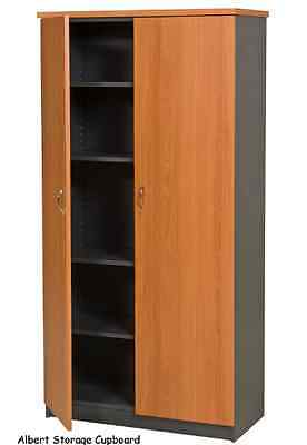 office cupboard shelving with doors and a Sliding door credenza