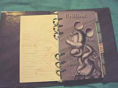 Mickey Mouse Planner or Organizer