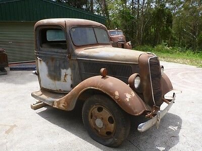 1937 Ford Pickup rare original unmolestered Ford Suit hotrod ford F1 F100 chevy