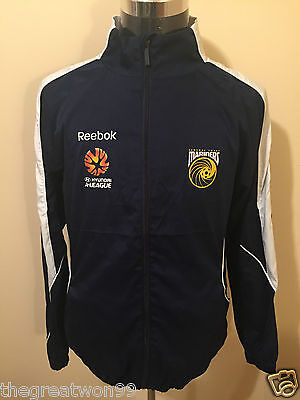 A-League Central Coast Mariners MED Full Zip Supporters Jacket by Reebok