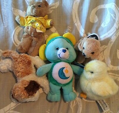 Care Bear Bedtime Limited Edition With Various Soft Toys
