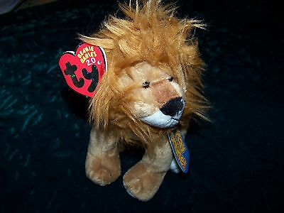 Ty Beanie Baby 2.0 Midas The Lion Unused Code Has Tag Online Pet Game New