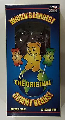 905041 5Lbs! The World's Largest Gummy Bears! - 10 Inches Tall! - Made In Usa