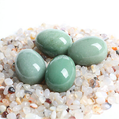 1PC Rare Natural Stone Quartz Green Aventurine Crystal Egg+ stand FREE SHIPPING