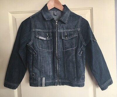 ZARA Girls Jean Jacket Smart Trendy Age 5/6 Years Excellent Condition