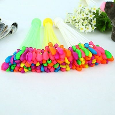 3 Bunches Magic Water Balloons Kids Children Outdoor Summer Game Toy 111pcs