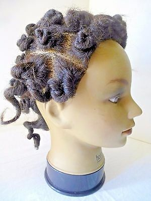 Vintage MANNEQUIN HEAD Cosmetology Display