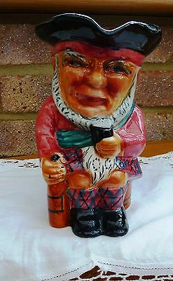 "Vintage Toby Jug ""SCOTTIE"" 6.5"" tall - Staffordshire Shorter and Son"