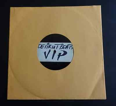 "DUBPLATE - Unknown Artist - Delikut Beats VIP  / ""Don"" Remix - 10"" Acetate"