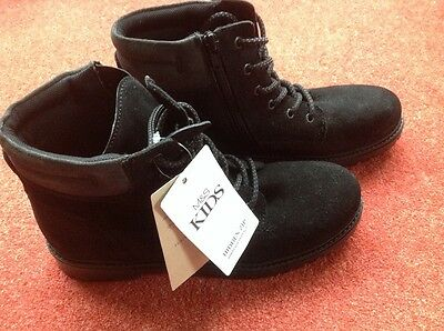 Marks and Spencer 'Kids' black suede size 6 boots