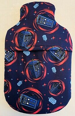 Doctor Who Hot Water Bottle Cover With Or Without Hot Water Bottle Free P&p