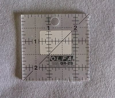 Olfa Frosted Acrylic Quilt Ruler 2.5 in x 2.5 in