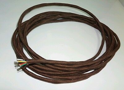 Early  8 core cable suit  1920's battery sets  27.5 feet