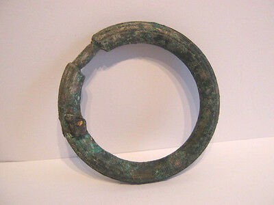 A Bronze Ribbed Ring, From A Collection Dating From 1St Century A.d To Medieval