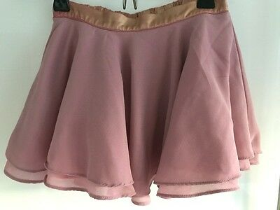 No Added Sugar Girls Pink Skater Skirt Age 4 years Pink and Gold