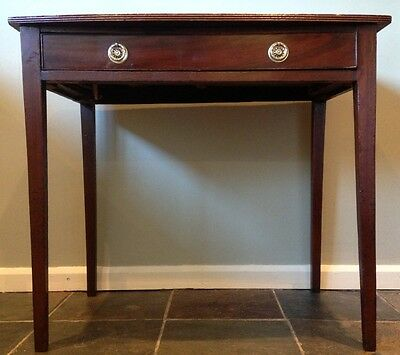 ~Antique Georgian Mahogany Hall / Console Table ~ Reduced as needs tlc   903