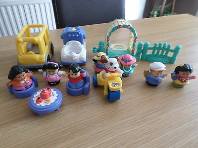 Fisher Price Little People Mixed Lot Figures Etc