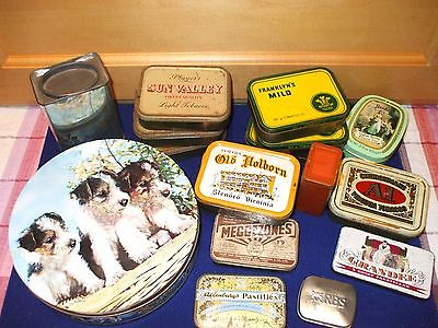 Old & Vintage Tin Collection