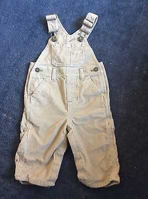 Baby Boys GAP Dungarees 3-6 Months In Excellent Condition!