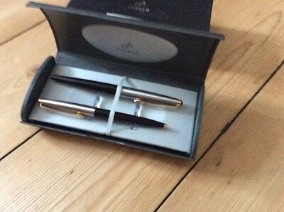 Parker 021/7941  double pen set ball and fountain