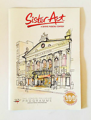 Sister Act Programme The London Palladium Collectable 2010