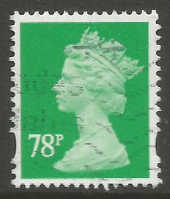 2007 SG Y1738  78p EMERALD  - FINE USED AS SCAN