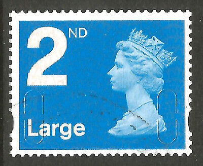 2009 SG U2943 BLUE 2nd LARGE  NO DATE  NO SOURCE CODE -  FINE USED as SCAN