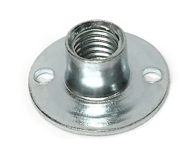 Climbing Wall Fixings M10 Round Flat Based T Nut Zinc Plated Slab Based Tee Nuts