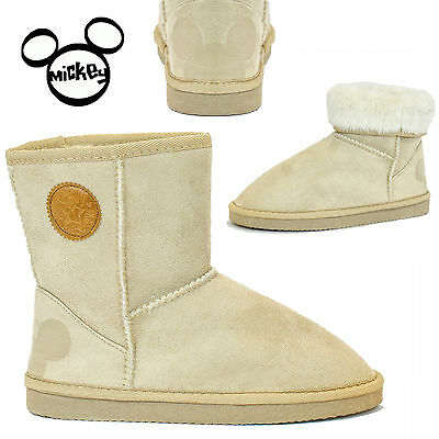 Ladies Boots Womens Slippers Suede Fluffy Faux Fur Girls Pom Cosy Warm Uk Size