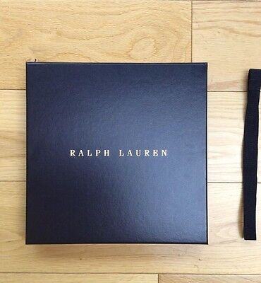 Ralph Lauren empty gift box
