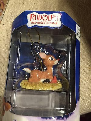 Rudolph Enesco Misfit Holiday Ornament Baby Rudolph