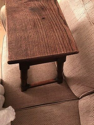 Antique Coffin Stool/ Coffee Table