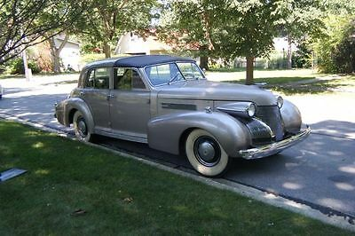 1939 Cadillac Other Derham Town Car 1939 Cadillac 60 S Derham Towncar stored 30 yrs, limousine, streetrod, not Buick