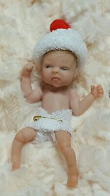 ooak polymer clay baby