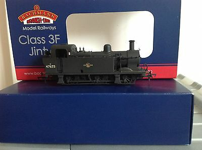 Bachmann Train Class 3F Fowler Jinty 47673 Late Crest Weathered