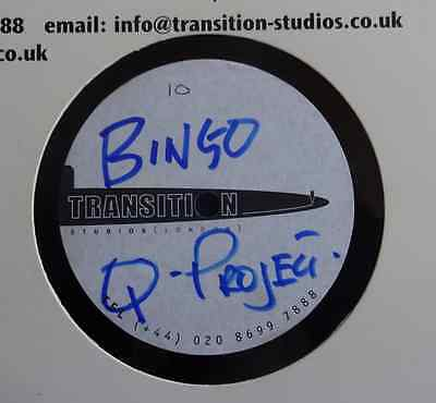 "DUBPLATE: Q Project - Bingo / Bad Bingo - 12"" Acetate Transition Studio"