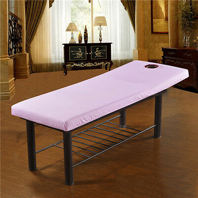 PINK Massage Tables Bed Plinth Treatment Couches Covers WITH Face Breath Hole