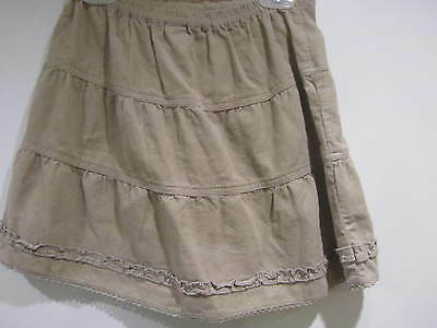 Beige skirt, tiered, 4-5 years, 110cm, ex-chainstore, BNWOT